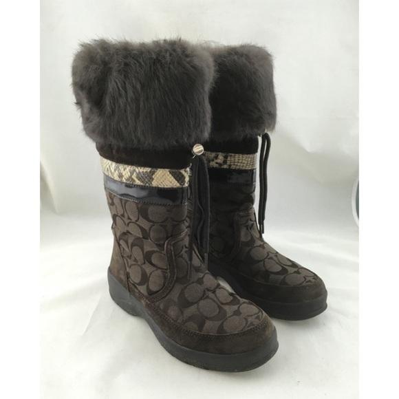 Coach Lorna Winter Boots